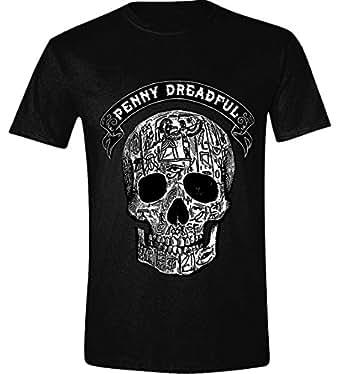Trademark The A-Team Logo Printed Men's T-Shirt Black Small