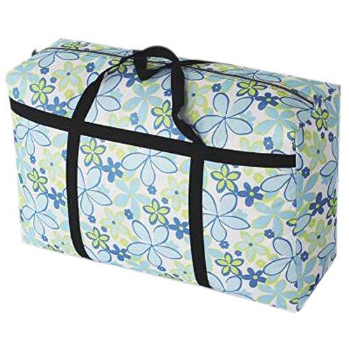 Extra große Jumbo Reißverschluss-Aufbewahrungsbeutel Einkaufstasche Bettwäsche Verpackungsbeutel -