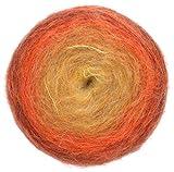 Pro Lana Woolly Hugs Bobbel Mohair, Fb. 202, 4-fädig, 150g / 500m Bobbel mit Mohair und wunderschönem Degradé Farbverlauf