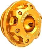 Evotech Tappo olio motore in ergal M26x3 Oro