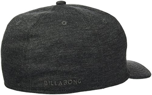 G.S.M. Europe - Billabong Herren All Day Hthr Stretch Kappen Black Heather