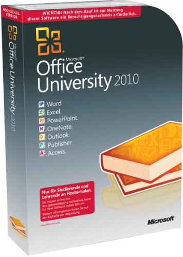 Microsoft Office University 2010 - Berechtigungsnachweis erforderlich