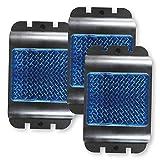 Isotronic - Dissuasore per lavanderia con luce LED blu, contro l'orsacchiotto, animali selvatici, animali selvatici, cinghiale, volpe