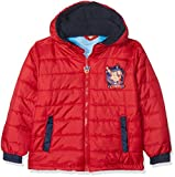 Nickelodeon Boy's Paw Patrol Inside Pup Coat, Red, 3-4 (Size: 4 Years)