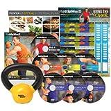 KettleWorX 2015 Rapid Evolution with FREE 5 lb Kettlebell New 8 Week DVD Program