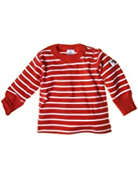 Polarn O. Pyret Unisex Striped Baby T-Shirt