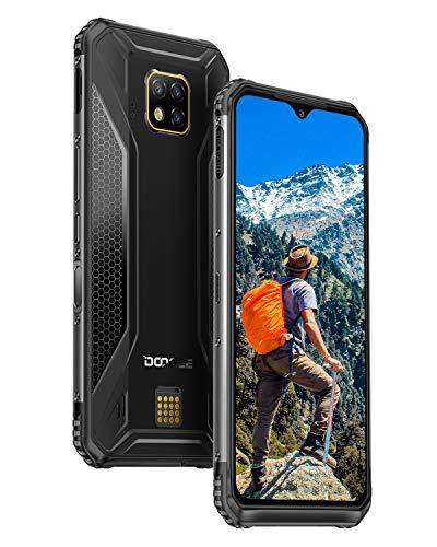 DOOGEE S95 Pro Outdoor Smartphone ohne Vertrag Android 9.0, 4G Full Netcom Handy Helio P90 Octa-Kern 8GB RAM+128GB ROM, 48MP AI-Dreifachkamera, 5150mAh, IP68 Wasserdicht Stoßfest 6,3 Zoll FHD+, NFC