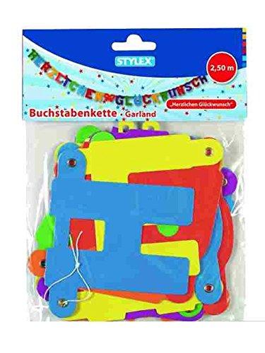 Stylex 14265 - Buchstabenkette