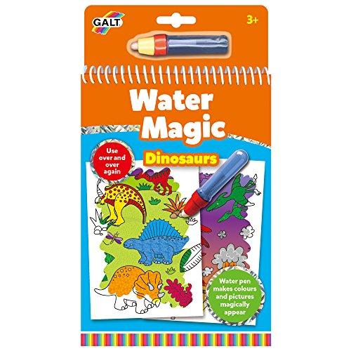 Galt Toys Water Magic Dinosaurs - Set di Figurine colorabili Lavabili