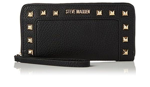 size 40 e71db 8bbd4 Steve Madden Damen Geldbeutel, schwarz: Amazon.de: Schuhe ...