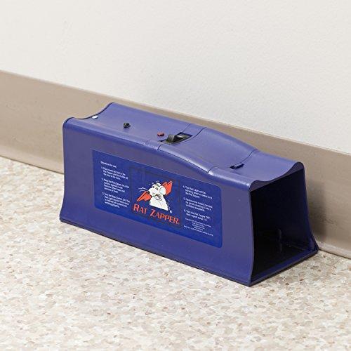 Victor Piège à rat électronique Rat Zapper Classique pour exécution instantanée et sans cruauté - Efficacité maximale dans le contrôle de nuisibles  #RZC001-4