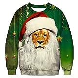 UFACE Loves 'Casual Herbst Winter Weihnachten 3D Druck Langarm Top Sweatshirt