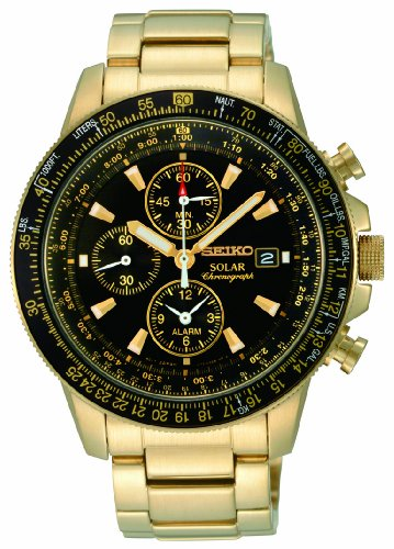Seiko Men's Solar Chronograph Watch SSC008P2