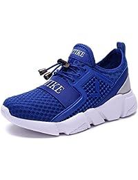 VITIKE Garçon Fille Chaussure de Course Chaussures de Multisports Outdoor Sneakers Mode Basket Chaussure Scolaire l'École pour Enfant Running Compétition Entraînement Chaussure