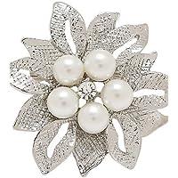 Wedding Bouquet spille e spille per le donne del fiore della perla spilla di alta qualità di modo