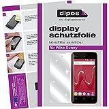 dipos I 2X Schutzfolie klar passend für Wiko Sunny Folie Bildschirmschutzfolie