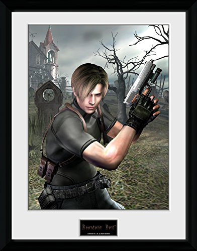 GB Eye, Resident Evil, Leon Graveyard, Foto incorniciata 40 x 30 cm