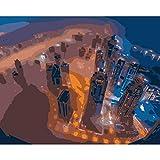 Puzzle 1000 Piezas Imágenes De Pared Emiratos Árabes Unidos Dubai Para Sala De Estar