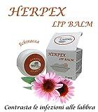 herpex Lip Balm–contrasta Le infezioni alle Labios Incluye el herpes labiale. formulado con ingredientes naturales. Unguento 15ml