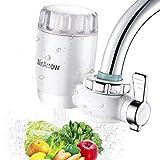 WinArrow- Filtro de Agua Para Grifo, KDF55 Filtro de Grifo con Tecnología GAC Filtro de Cerámica de Alta Precisión para Cocina / Baño