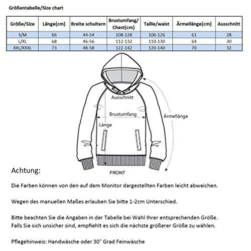 KamiraCoco 3D Druck Kapuzenpullover Herren Cartoon Sweatshirt Weihnachten Langarm Top Shirt Herbst Winter Drawstring Hoodie Pullover mit Kapuze Blitz Katze