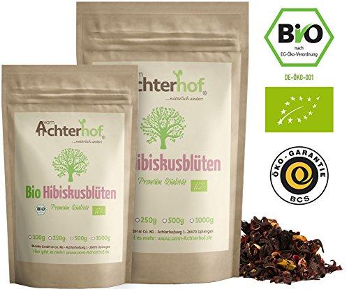 Tee (500g) ganz getrocknet Hibiskusblütentee hibiscus flowers organic ()
