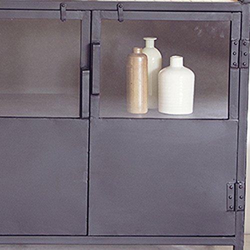 sideboard metall bestseller shop f r m bel und einrichtungen. Black Bedroom Furniture Sets. Home Design Ideas