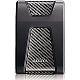 ADATA HD650 2TB USB 3.1 Shock-Resistant External Hard Drive, Black (AHD650-2TU31-CBK)