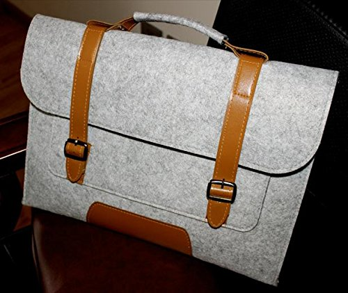 Z&HXFilz Laptop-Tasche Laptop-Tasche Laptop-Tasche beil?ufige Art und Weise gray