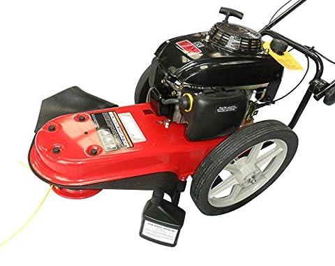Wheeled strimmer/brush cutter/trimmer