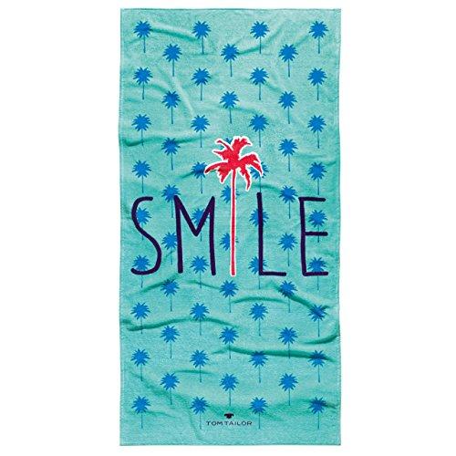 Tom Tailor Strandtuch 85x160 cm Smile petrol