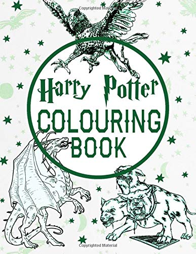 Harry Potter Colouring Book: Adult Coloring Books