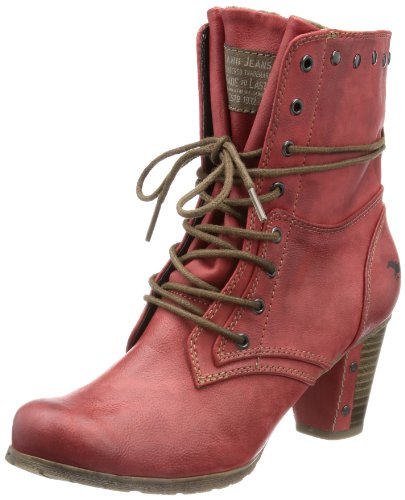 Mustang 1102602, Boots femme Rouge (5 Rot)