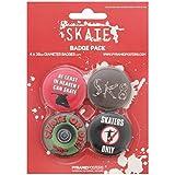 Skate Badge Pack