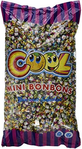 Cool Minibonbons Frucht Mix im  Beutel, 1er Pack (1 x 3 kg) Mini-bonbons