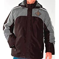 """New Orleans Saints NFL """"Defense"""" Systems 3-in-1 Heavyweight Performance Jacket"""