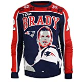 NFL Ugly Sweater/Pullover Christmas NEW ENGLAND PATRIOTS Tom Brady #12 in XXL (2XL)