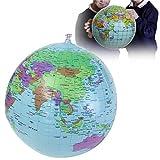 ADAALEN 40cm aufblasbare Welt Earth Globe Atlas Karte Wasserball Wissenschaft Geographie Bildung