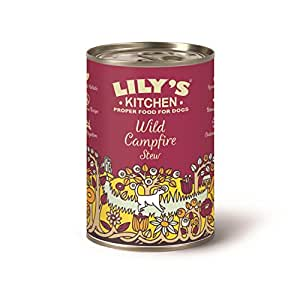 Lily's Kitchen Wild Campfire Stew Complete Wet Food for Dogs 400g (Pack of 6)