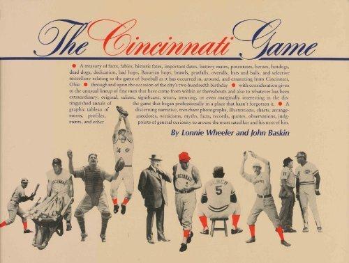 Cincinnati Game by Lonnie Wheeler (1988-07-02)