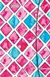 Taschenkalender Small Watercolours - mit Magnetverschluß - Kalenderbuch A6-14 Monate - Kalender 2019 - teNeues-Verlag - Taschenplaner mit Lesebändchen und Zetteltasche - 10 cm x 15 cm