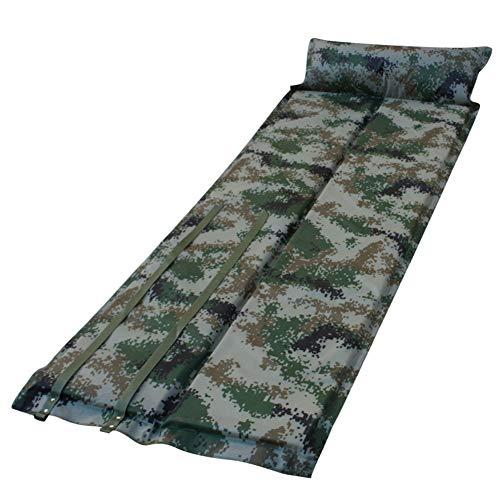 HHMGYH Schlafzettel-Pad Self Inflating Camping Mat Sleeping Mat Portable Sleeping Pad/Matratze für Zelt im Camping Wandern und Outdoor-Aktivitäten -
