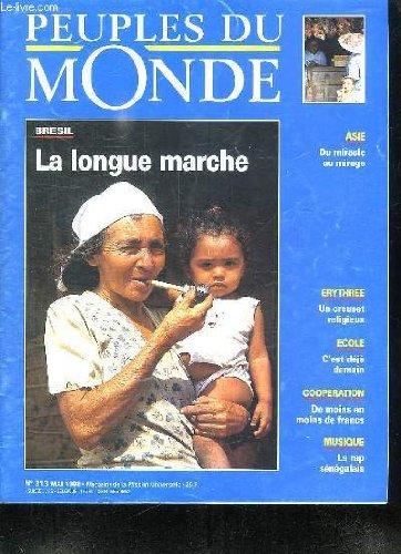 PEUPLES DU MONDE N°313 MAI 1998. SOMMAI...