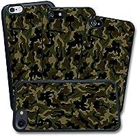 Cover Apple iPhone - Stampa Mimetica Verde Dark Camouflage - Apple iPhone 4 4S