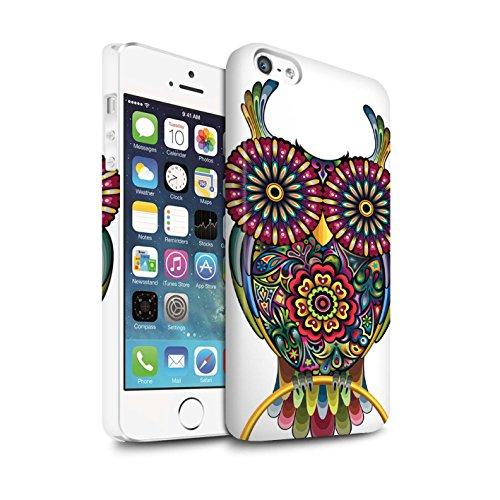 STUFF4 Matte Snap-On Hülle / Case für Apple iPhone 7 Plus / Stier Muster / Deko-Tiere Kollektion Kauz