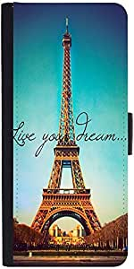 Snoogg Live Your Dreamdesigner Protective Flip Case Cover For Lg G2