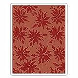 Sizzix Texture Fades Prägeschablone-Weihnachtssterne von Tim Holtz, Plastik, Mehrfarbig, 17.5 x 12.4 x 0.5 cm