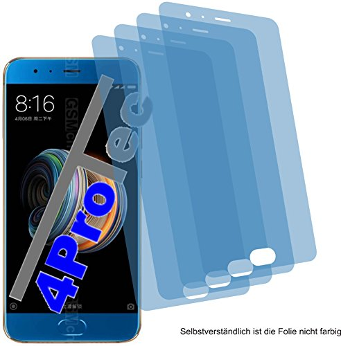 4x ANTIREFLEX matt Schutzfolie für Xiaomi Mi Note 3 Displayschutzfolie Bildschirmschutzfolie Schutzhülle Displayschutz Displayfolie - Mi 3-xiaomi Handy