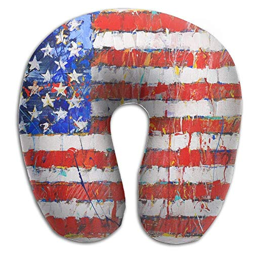 cuscini-american-disk-flag-print-u-type-pillow-memory-foam-neck-pillow-for-travel-and-relief-neck-pa