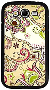 PrintVisa Case Cover for Samsung Galaxy Grand (D7963 Pattern Abstract Floral)
